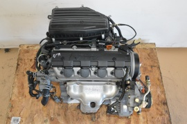 JDM 2002 2003 2004 2005 HONDA CIVIC D17A .1.7L VTEC ENGINE